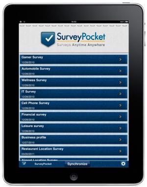 SurveyPocketScreenShot