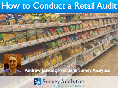 How to Conduct Your Own Retail Audit